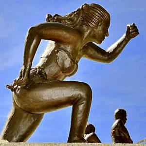 Apparence, Sculpture bronze Nicole Brousse