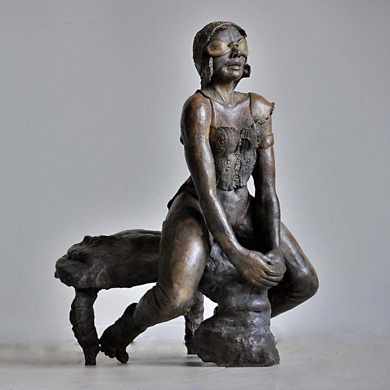 La Chevauchée Fantastique, sculpture de Nicole Brousse