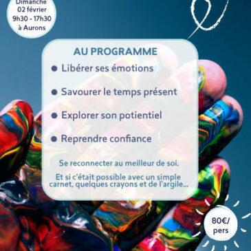 Journée découverte «Libérer sa créativité» le 2 février 2020